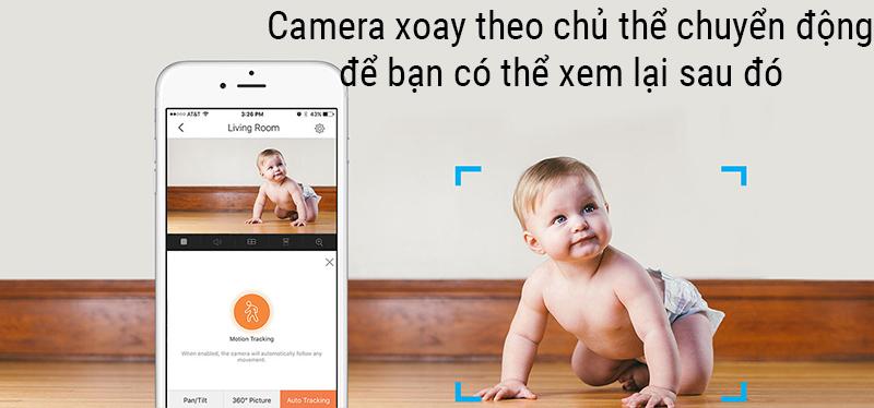 so sánh camera wifi Ezviz C2C HD 720P và C6T HD 1080P