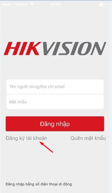 hướng dẫn cài đặt phần mềm hik-connect-11
