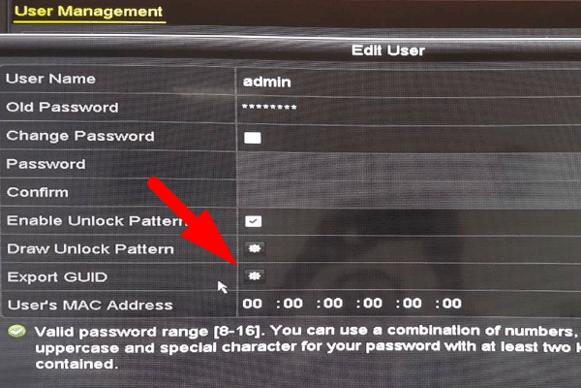 cách khôi phục mật khẩu trên đầu ghi camera Hikvision-2