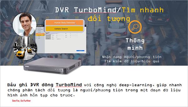 DVR turbo hd 5.0 tìm nhanh đối tượng