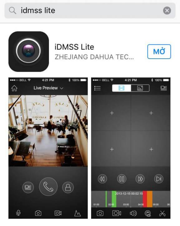 Cài đặt xem camera Dahua trên điện thoại-1