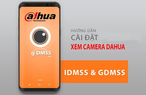 Cài đặt xem camera Dahua