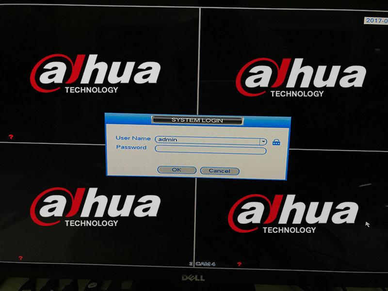 giao diện đăng nhập đầu ghi hình dahua