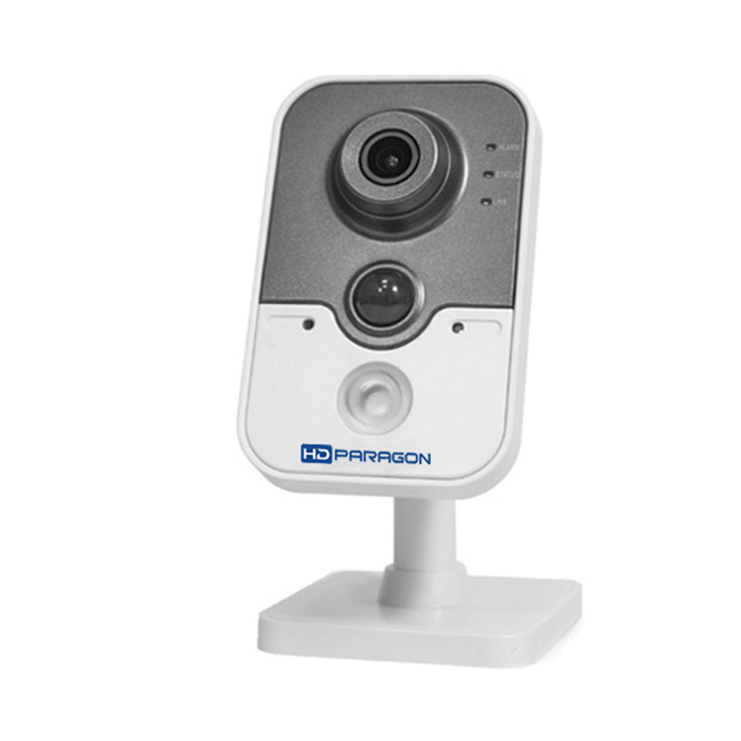 Camera IP HDPARAGON HDS-2420IRPW 2.0 Megapixel,F4mm, Micro SD, Âm thanh, ePTZ ,3D-DNR, PoE