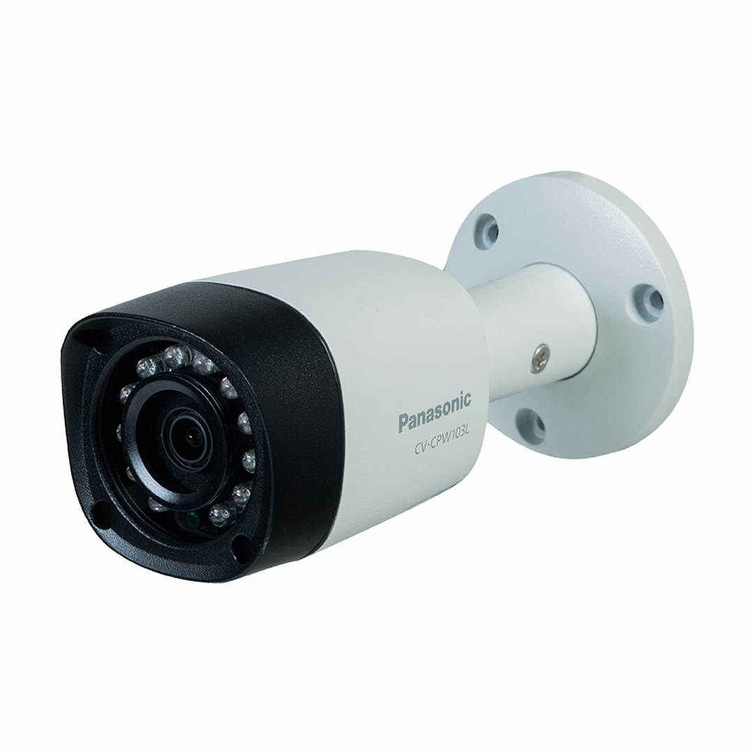 Camera Panasonic CV-CPW103L 1.0 Megapixel, 12 Led IR 20m, F3.6mm, IP66 chất liệu Metal