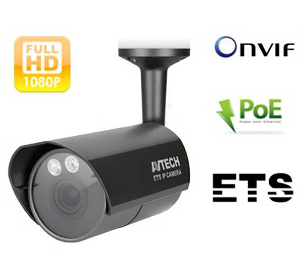 Camera IP AVTECH AVM403CP 2.0 Megapixel, 2 Solid light, PoE, Onvif,Micro SD,PTZ