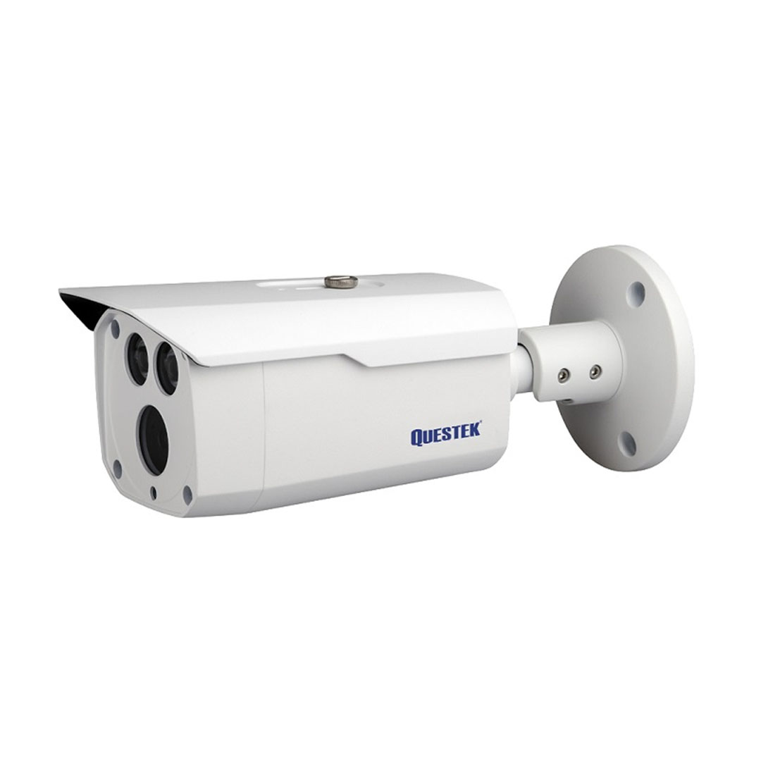 Camera IP Questek Win-9375IP 4.0 Megapixel, Led SMD IR 80m, F3.6mm góc nhìn 87 độ, PoE, Onvif