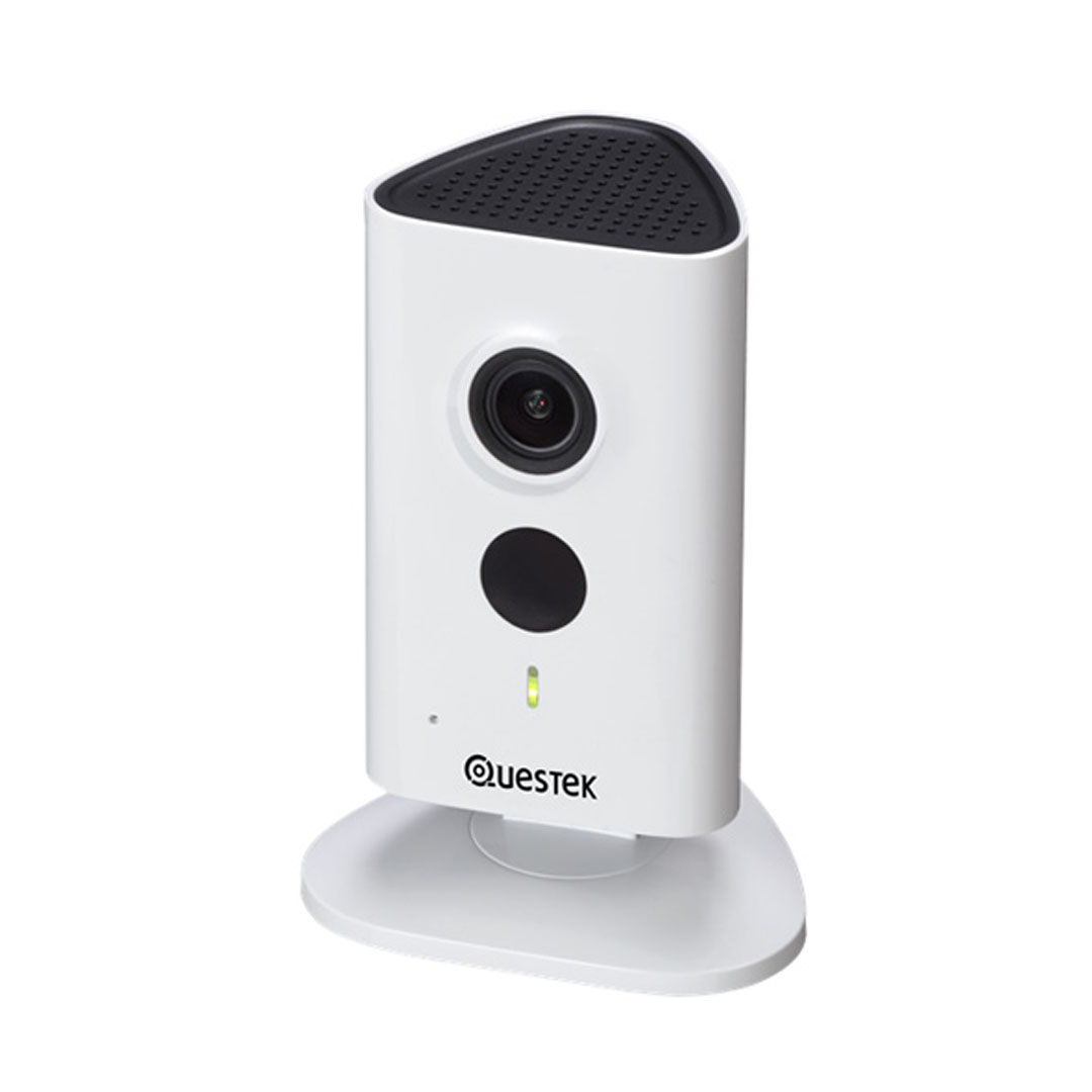 Camera IP Wifi Questek Win-930WN 3.0 Megapixel, IR 10m, F2.3mm, MicroSD, Âm thanh 2 chiều, Push Video