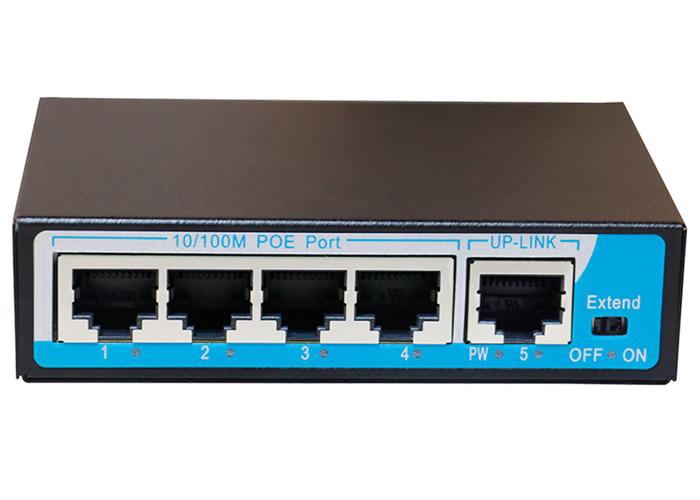 switch 4 port poe HR901-AF-41